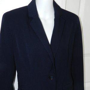 Merona single button navy blazer